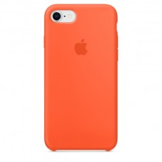 Apple iPhone 8 / 7 Silicone Case - Spicy Orange