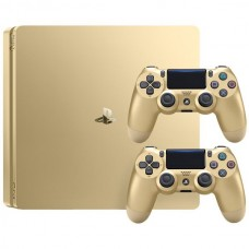 Sony PlayStation 4 Slim 500GB Gold + Dualshock