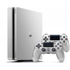 Sony PlayStation 4 Slim (PS4 Slim) 500 silver + dualshock
